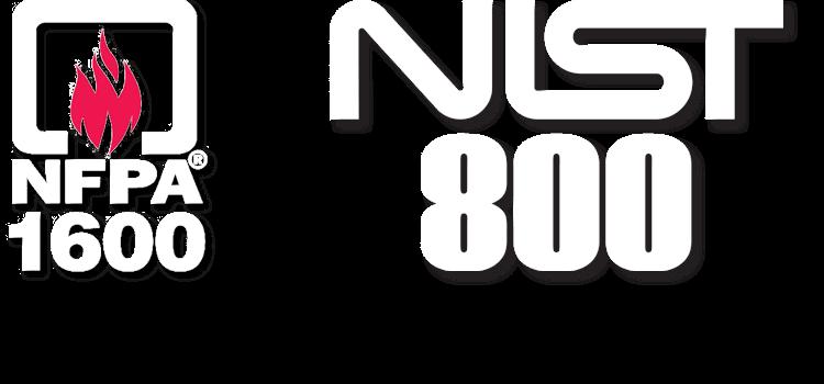 NFPA 1600 & NIST 800 Standards